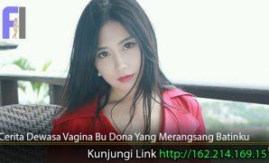Cerita-Dewasa-Vagina-Bu-Dona-Yang-Merangsang-Batinku
